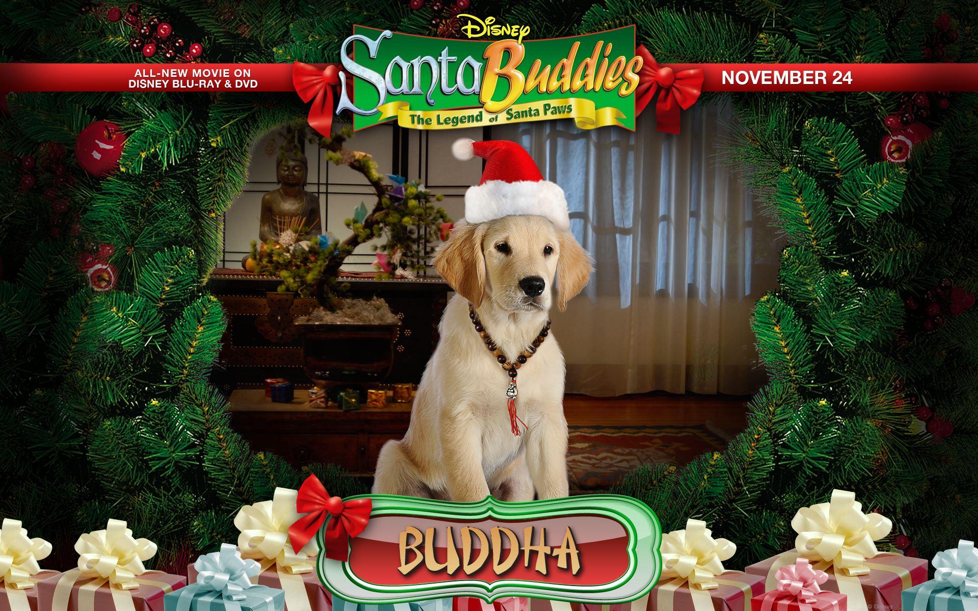 Santa Buddies movie cast